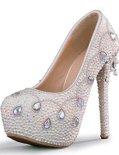 WSS 2016 chaussures talon aiguille talons talons mariage / fête des femmes&soirée / robe blanche 5in & over-us5 / eu35 / uk3 / cn34