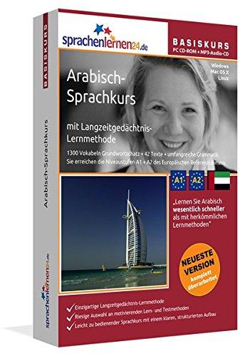 Preisvergleich Produktbild Sprachenlernen24.de Arabisch-Basis-Sprachkurs: PC CD-ROM für Windows/Linux/Mac OS X + MP3-Audio-CD für MP3-Player. Arabisch lernen für Anfänger