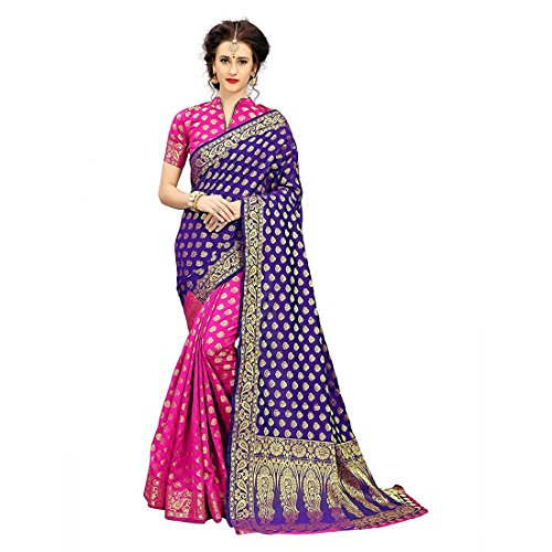 Art Decor Women's Silk Saree With Blouse