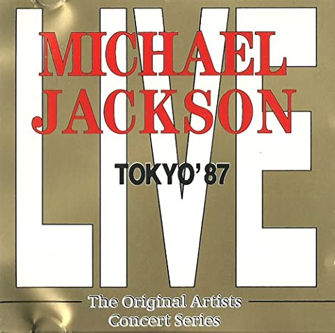 Live in Japan 1987 (CD Album, 13 Live Aufnahmen: Alle Hits. Wanna Be Startin... Off the Wall...rock with You ... Beat It.... Billie Jean... Etc.)