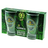 "Mini Pint-Gläser 2er-Pack mit ""St. James' Gate""-Aufdruck - ""Guinness Ireland""-Kollektion"