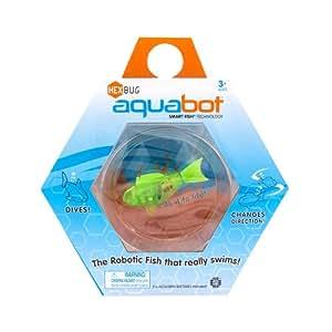 HEXBUG Aquabot Mit Schüssel GREEN FISH ( Versand aus UK)