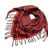 Beginfu 1PC Unisex Mode Frauen Männer Schal Schal Wrap Quaste Arabischen Houndstooth großer quadratischer Schal Edler & Eleganter Schal, Stola; - Florales & Paisley-Muster; viele Farben