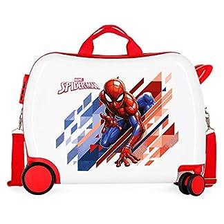 Marvel-Spiderman-Geo-Kindergepck-34-Rot-Rojo