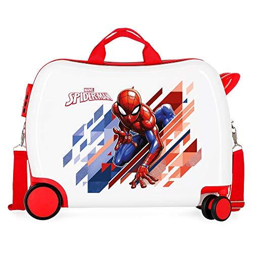 Marvel Spiderman Geo Valigia per bambini 50 centimeters 34 Rosso (Rojo)