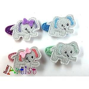 Elefant Haarspange für Kleinkinder - freie Farbwahl