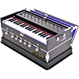 Ekam Musical- Harmonium- 3 1/4 Octave, Double Bellow, 39 Keys,7 Stopper, Bass- Male Reed With Cover