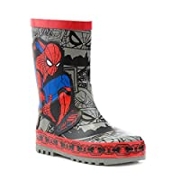 Spiderman Kids Red and Blue Welly