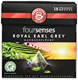 Teekanne foursenses Royal Earl grey Pyramidenbeutel, 5er Pack (5 x 32 g)