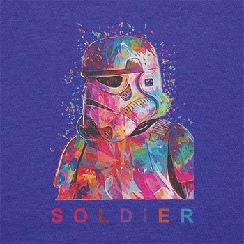 TEXLAB - Soldier - Herren Langarm T-Shirt Marine