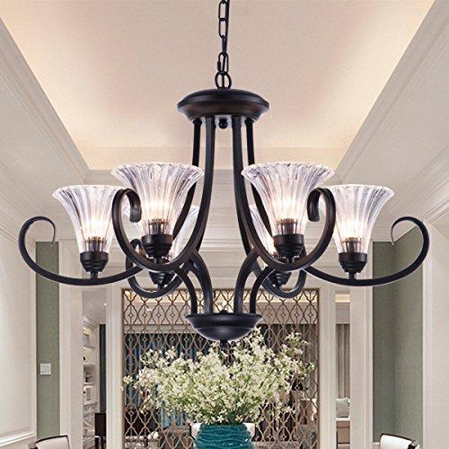 Nüsse Dekorative (MOMO Personalisierte dekorative Beleuchtung Nuss Holz Led Pilz Lampe,6 Kopf)