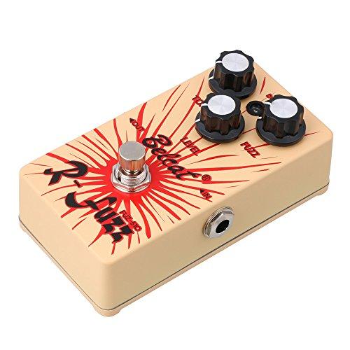 lyws Belcat fuz-510Gitarre Bass Fuzz Ton Level Effekt Pedal (Ture Bypass)