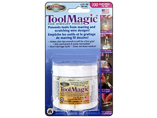 Tool Magic - Rubber Coating for Jewelry Tools 2 fl oz by Ghi, Inc -