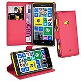 Cadorabo - Funda Nokia Lumia 625 Book Style de Cuero Sintético en Diseño Libro - Etui Case Cover...