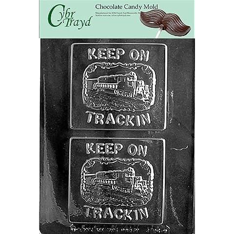 Cybrtrayd J094 tren tarjetas para felicitaciones puestos de trabajo Chocolate moldes para dulces