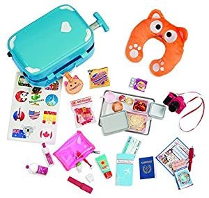 Our Generation Well Travelled Luggage Accessory Set