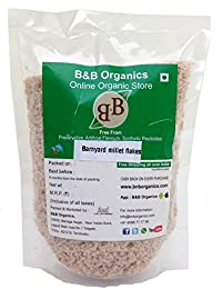 B&B Organics Barnyard Millet Flakes, 1 kg