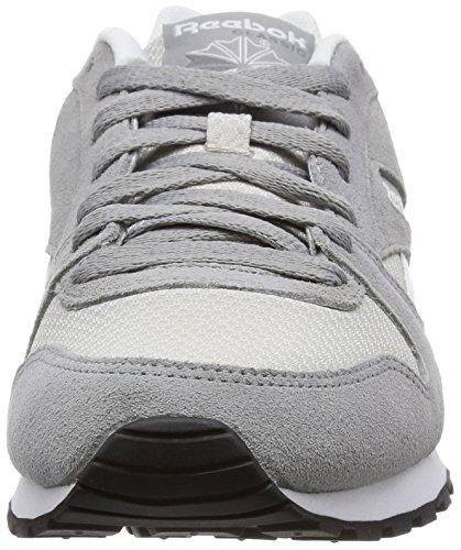 Reebok Jungen Gl 3000 Laufschuhe Grau-Schwarz-Weiß