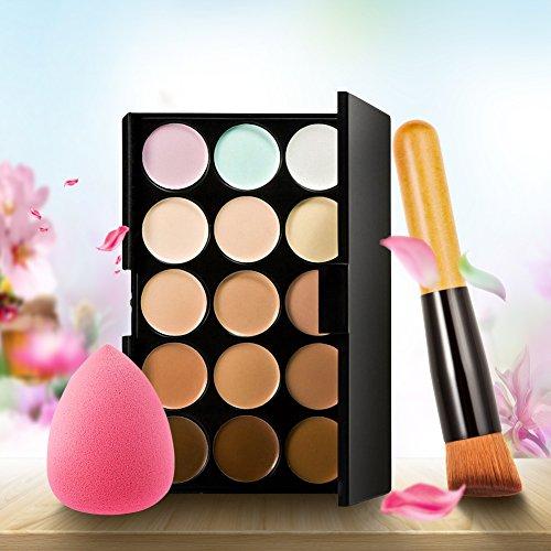 Samber Correctores Maquillaje 15 Colores+pinceles