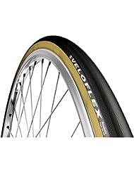 Veloflex Roubaix Boyau negro/Beige 700x 25C