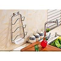 Mangeoo 304 Edelstahl Topf Rack Mit Einer Wasserschale Küchenregal  Hängenden Regal Board Hacken Schneidebrett