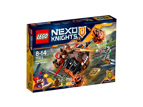 LEGO Nexo Knights 70313: Moltors Lava Smasher Mixed