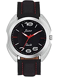Jainx Avenger Black Dial Analog Watch For Men & Boys - JM268