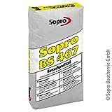Sopro BetonSpachtel BS 467 | grau | 25 kg/Sack | feinkörnige, schnell erhärtende Spachtelmasse