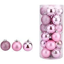 Colorfulworld Weihnachtsgeschenk 20cm Mini-Christbaumschmuck dekorierten dekoriert Weihnachtsbaum Weihnachten Supplies