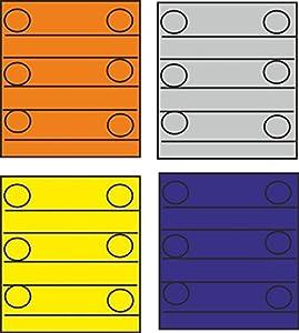 Triang Cuatro Bloques de contenedores de Color