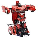 Sharplace 2-en-1 Télécommande Voiture Transformable à Robot Collection Jouets pour...