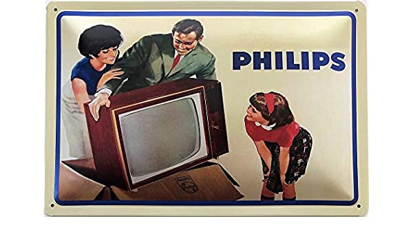 Blechschild 30 X 20 cm Philips
