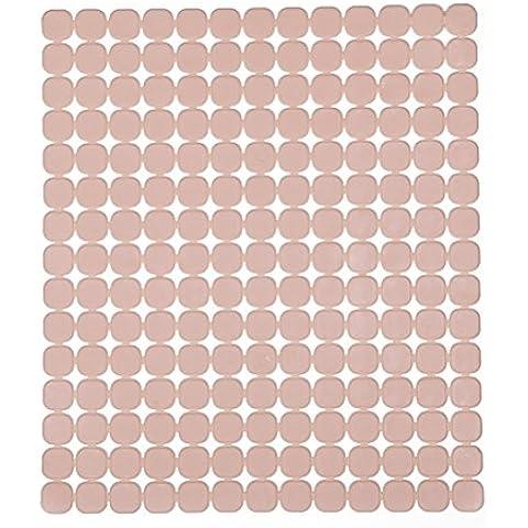 PIXNOR Sottobicchiere Tovaglietta - imbottiti di Silicone antiscivolo Pot Holder (rosa)