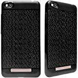 ECellStreet Soft Back Case Cover With Camera protection For Panasonic Eluga Ray X - Black