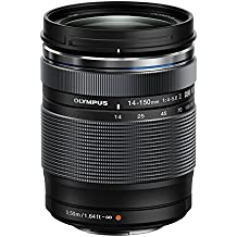 Olympus Zuiko - Objetivo para cámara réflex para Micro Cuatro Tercios (distancia focal 14-150mm, apertura f/4, zoom óptico 10.7x, diámetro filtro: 58mm)  II negro