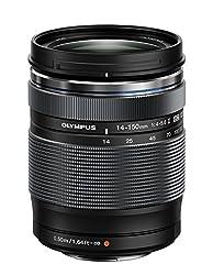 Olympus M.Zuiko Digital ED 14‑150mm F4‑5.6 II Objektiv (Universalzoom, geeignet für alle MFT-Kameras, Olympus OM-D und PEN Modelle, Panasonic G-Serie) schwarz