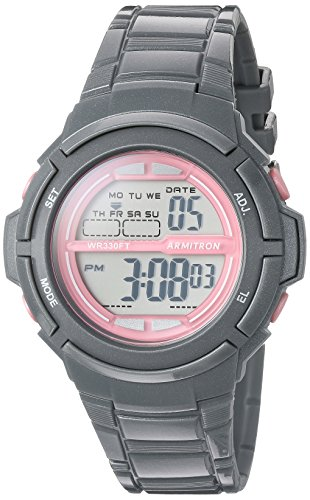 armitron-sport-womens-45-7045sgy-pink-accented-digital-grey-sparkled-resin-strap-watch
