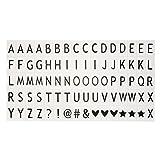Malloom® Farbe Emoji Buchstaben für A3 A4 A5 CINEMATIC Leuchten Zeichen Kino Lightbox (A)