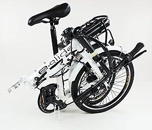 "e.glide E bike ELECTRIC BICYCLE 20"" Folding Bike"