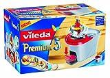 Vileda Premium 5 Rotationseimer - Bezug per Pedaltritt auswringen - kein Bücken und keine nassen Hände