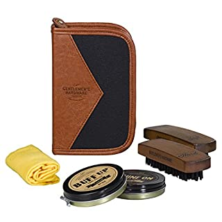 Gentlemen's Hardware Shoe Shine Kit | Charcoal