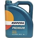 Aceite Repsol Premium Tech 5W30 5L