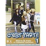 C'est parti! Con e-book. Con espansione online. Con DVD. Per la Scuola media: 1