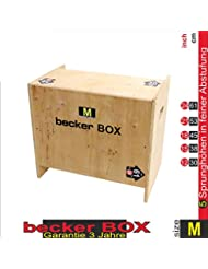 Becker-Sport Germany Becker Box M Weltneuheit 5 in 1 Plyobox, 5 Verschiedene Sprunghöhen: 12, 15, 18, 21 und 24 inch (30, 38,45, 53 und 61 cm)