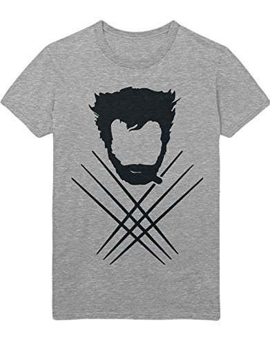 Kostüm Mutanten Neue - T-Shirt Wolf C000011 Grau XL