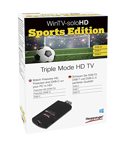 Hauppauge WinTV-soloHD sports edition