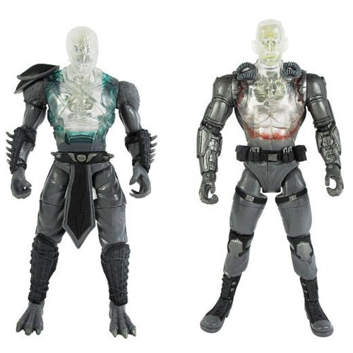 al Devastation X-Ray 2 Pack Reptile & Jax Figures (Mortal Kombat Requisiten)