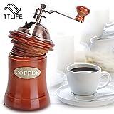 Pinkdose® Pinkdose China: Ttlife High-Quality Household Mini Manual Coffee Grinder Washable Stainless Steel Coffee Grinder Coffee Mill Beans Nuts Grinder