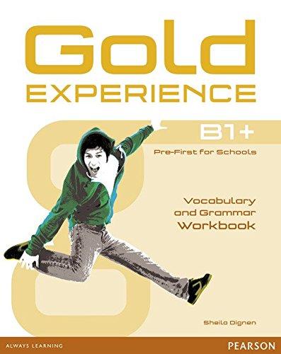 Gold Experience B1+ Workbook without key por Sheila Dignen