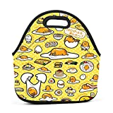 Best Hot Wheels Lunch Boxes - Dozili Gudetama Large & Thick Neoprene Lunch Bags Review